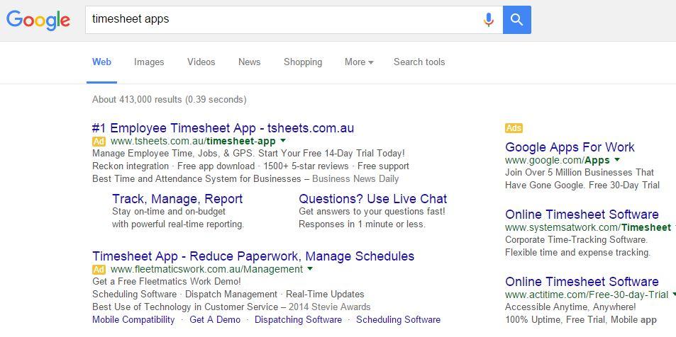 timesheet-google - Appomate